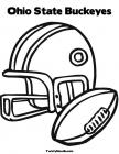 Osu football coloring pages