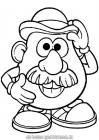 Mr potato head coloring pages