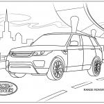 Land Rover Coloring Pages