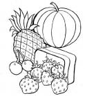 Nutrition food coloring pages