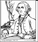 President george washington coloring pages