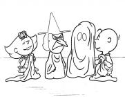 Charlie brown coloring pages