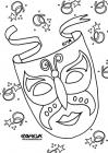 Carnival coloring pages