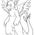Furry Coloring Pages
