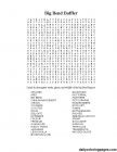 Word searches coloring pages