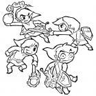 Zelda coloring pages