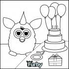 Furby coloring pages