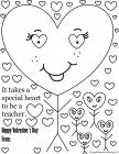 Teacher appreciation coloring pages