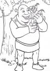 Cartoon characters coloring pages