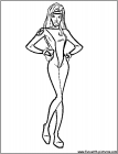 Storm superhero coloring pages