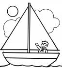 Ship coloring pages