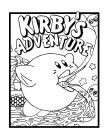 Kirby coloring pages