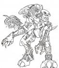 Bionicle coloring pages