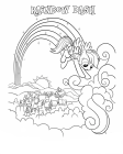 Rainbow Dash coloring pages