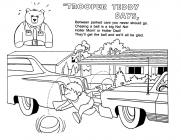 Safety coloring pages