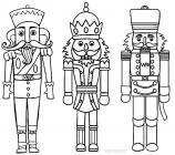 Nutcracker coloring pages