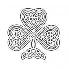 Celtic knot coloring pages