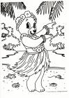 Lisa frank animals coloring pages