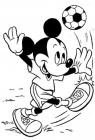 Mickey mouse coloring pages to print