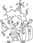 Baby isaac coloring pages