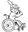 Athletes coloring pages