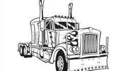 Optimus prime coloring pages