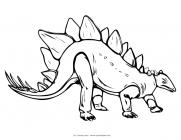 Spinosaurus coloring pages