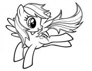 Little pony coloring pages