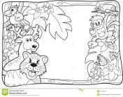 Safari coloring pages