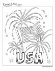 Usa coloring pages