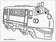 Chuggington coloring pages
