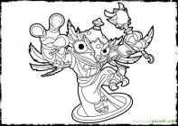 Hoot loop coloring pages