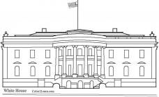 Us landmarks coloring pages