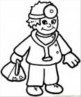 Doctor coloring pages