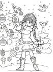 Christmas pictures coloring pages