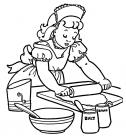 Cooking coloring pages
