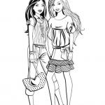 Fashionista Coloring Pages
