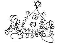 Garland coloring pages