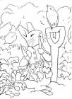 Peter rabbit coloring pages