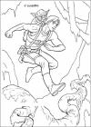 Luke skywalker coloring pages