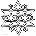 Rangoli coloring pages
