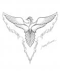 Phoenix coloring pages