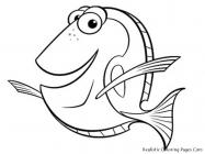 Sea fish coloring pages