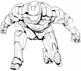 Superheroes coloring pages
