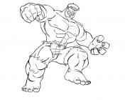 Hulk cartoon coloring pages