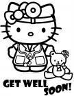 Get well soon coloring pages