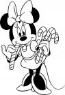 Disney minnie mouse coloring pages