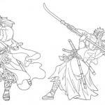 Samurai Coloring Pages
