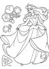 Aurora coloring pages
