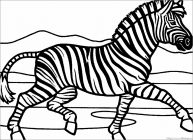 Marty zebra coloring pages